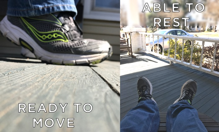 Ready To Move - Able To Rest - Cover Art