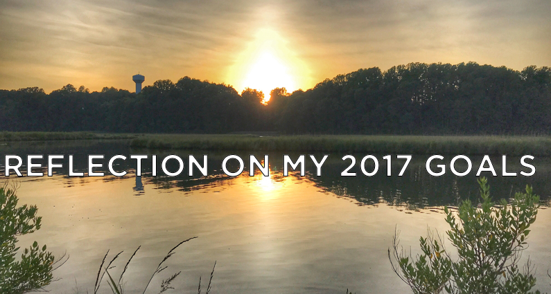 Reflection On My 2017 Goals - Cover Art